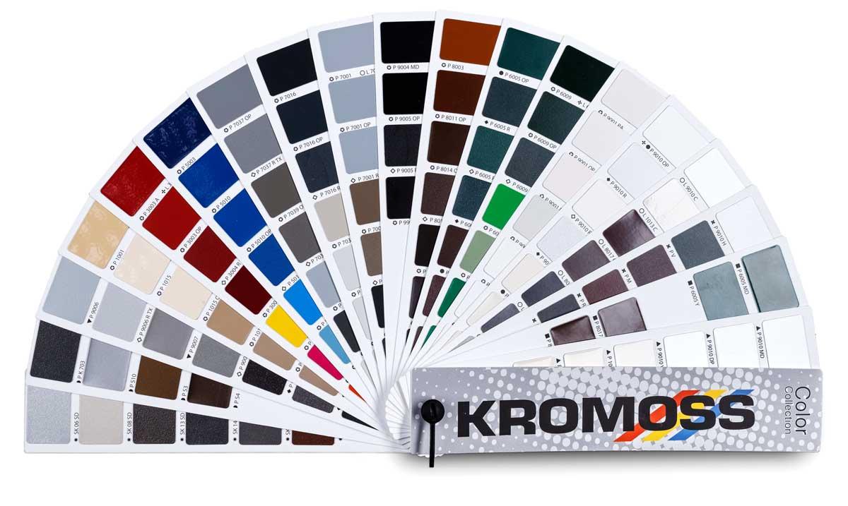 Kromoss, mazzetta colore RAL