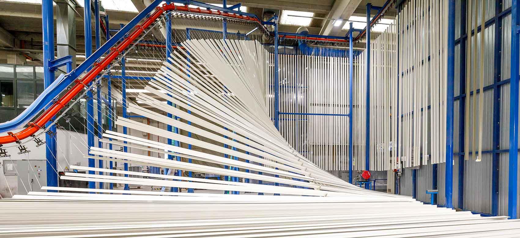 Kromoss Impianto Verniciatura Verticale Alluminio